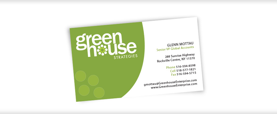Business Card Design for Lighting Company in New Jersey