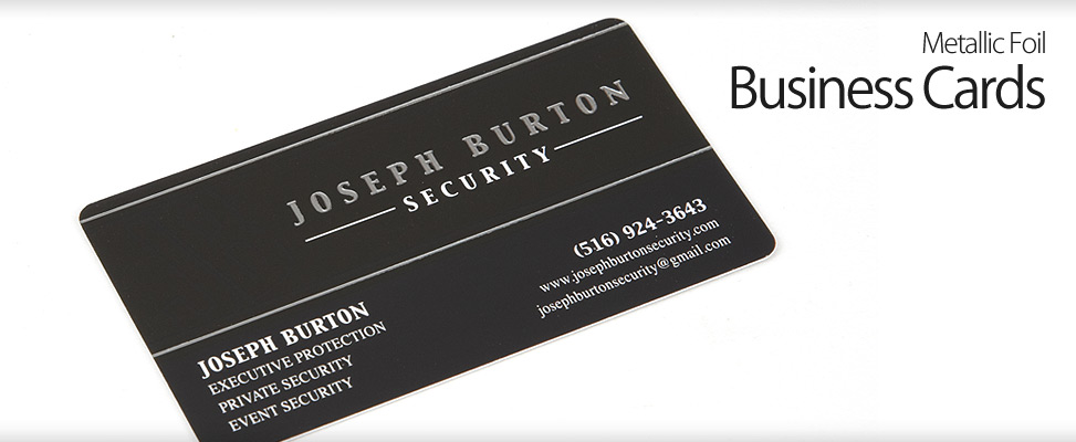 Business Card Design for Long Island Company
